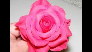 Как сделать розу для торта