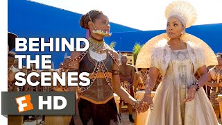 Black Panther Behind the Scenes - Female Leadership (2018) | Movieclips Extras