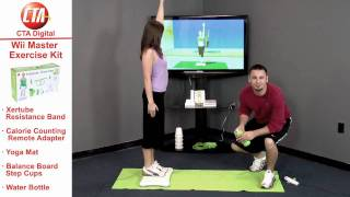 Master Exercise Kit for Wii Fit Video