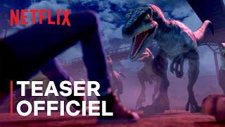 Jurassic World : La Colo du Crétacé   Teaser officiel VF   Netflix France