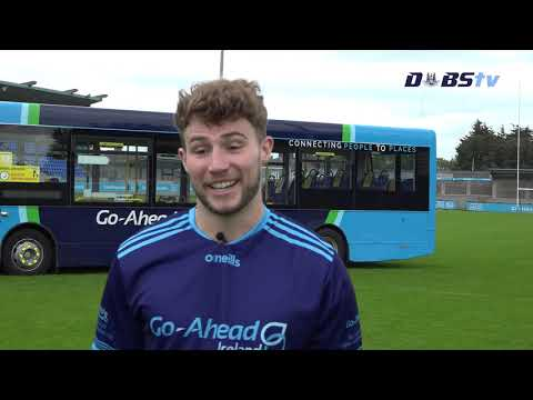 Jake Malone chats to DubsTV at launch of Go Ahead Dublin Adult Leagues & Championships