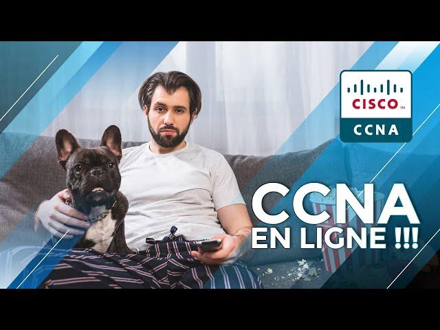 Passer l'examen CCNA de son canapé ! C'est maintenant POSSIBLE !