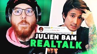 Unge REAGIERT auf Julien Bam REALTALK 🤯 ungespielt Reaktion