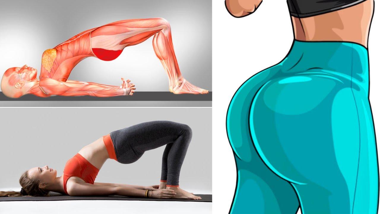 Os 4 Melhores Exercícios Para Aumentar os Glúteos e as 10 Maneiras Diferentes De Fazê-Los