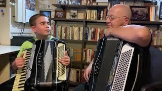 PapaJoe De Clemente & Zach( Grandson)  - 7th Annual  Language of Love Telethon