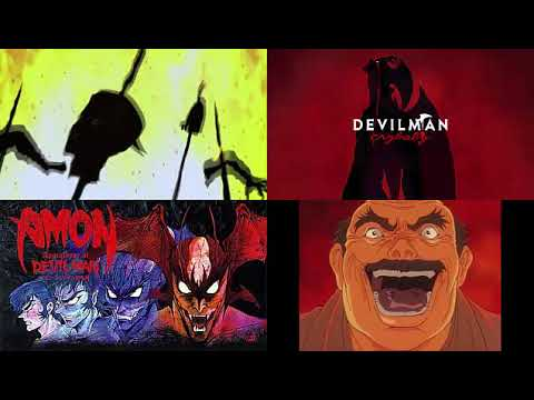 Devilman - Miki´s Death - Devilman Crybaby vs Apocalypse of Devilman - Side by Side Comparison