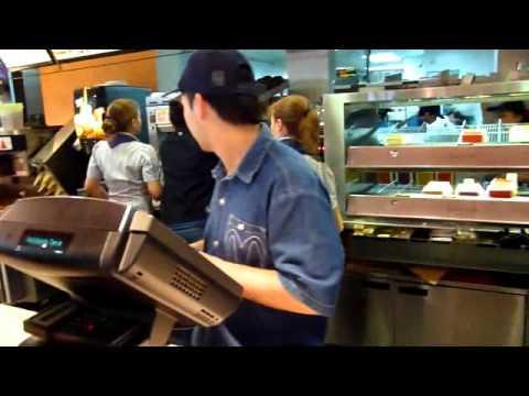 McDonalds in Airport Ezeiza Buenos Aires Argentina