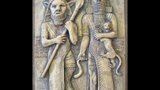 2256(3)Epic of Gilgameshギルガメシュ叙事詩・神々の神話byはやし浩司Hiroshi Hayashi, Japan