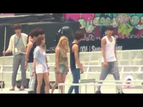 Dance Battle : SMTOWN in Singapore  rehearsal