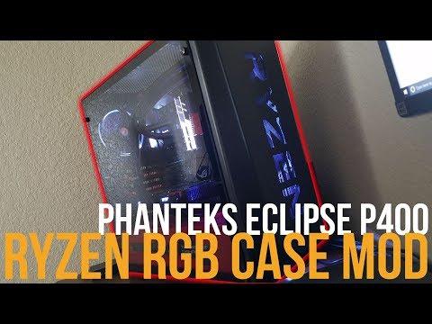 How I Modded My Phanteks Eclipse P400 #PGNETWORK