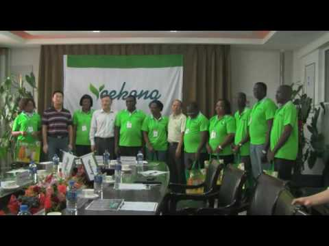 Yeekong Int Team Of Cameroon  China Trip