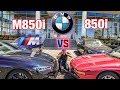 BMW 850 showdown NEW V8 VS Old V12
