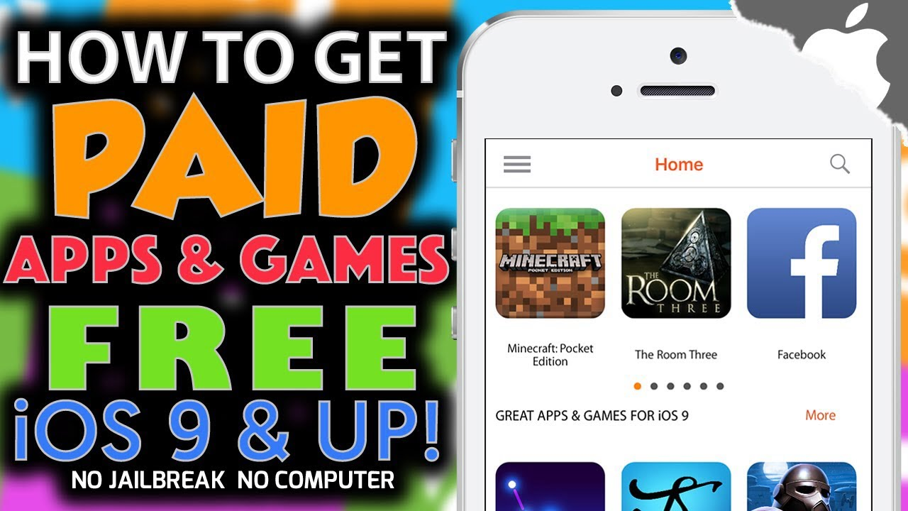 paid apps for free iphone how to paid apps no jailbreak no computer on 8578