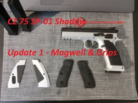 CZ 75 SP-01 Shadow - Update 1 - Magwell & Grips