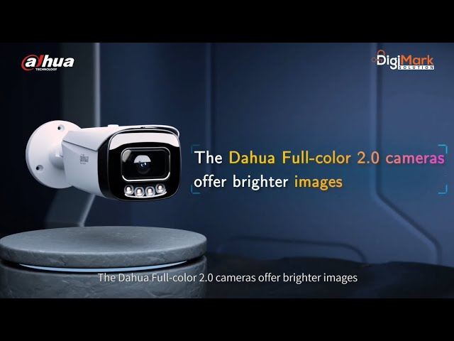 Dahua CC Camera with FULL COLOR 2.0 | Best CCTV Camera in Budget???