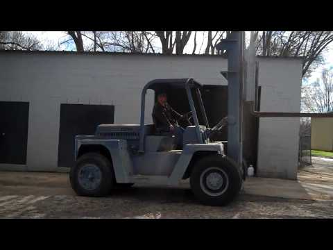 Clark 20,000 Lb. Propane Yard Forklift - Tag# 112144