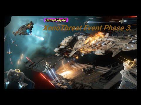 Star Citizen - XenoThreat Event III. - Caterpillar Pilot/Turret View & Track IR