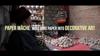 Paper mâché: Moulding paper into decorative art