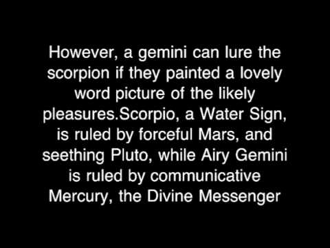 Gemini compatible with scorpio