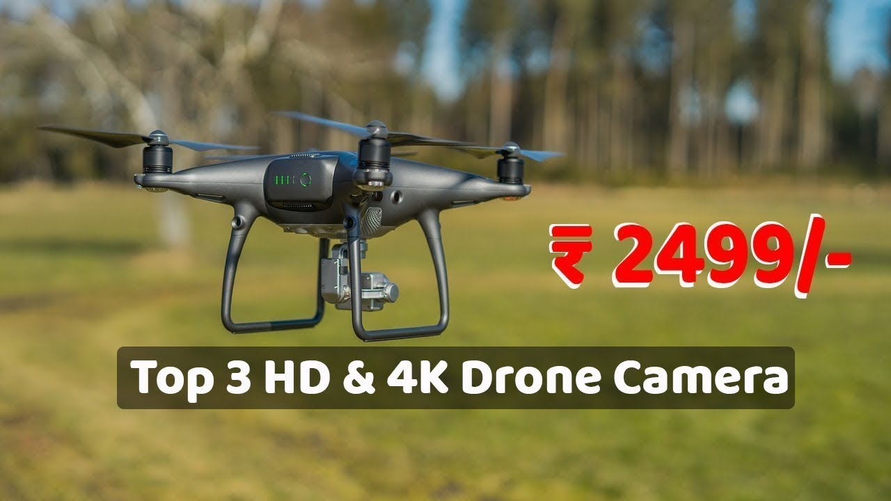 Top 3 Best 4K & HD Drone Camera Under 2499 || by SK Media