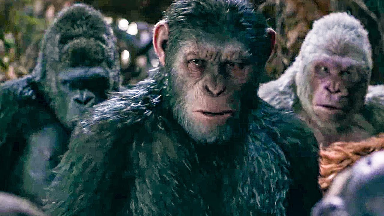 I Did Not Start This War Scene War For The Planet Of The Apes 2017 Movie Clip Youtube