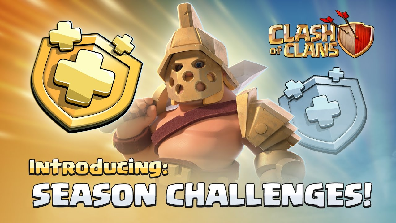Clash of Clans Spring 2019 update to add Season Challenges