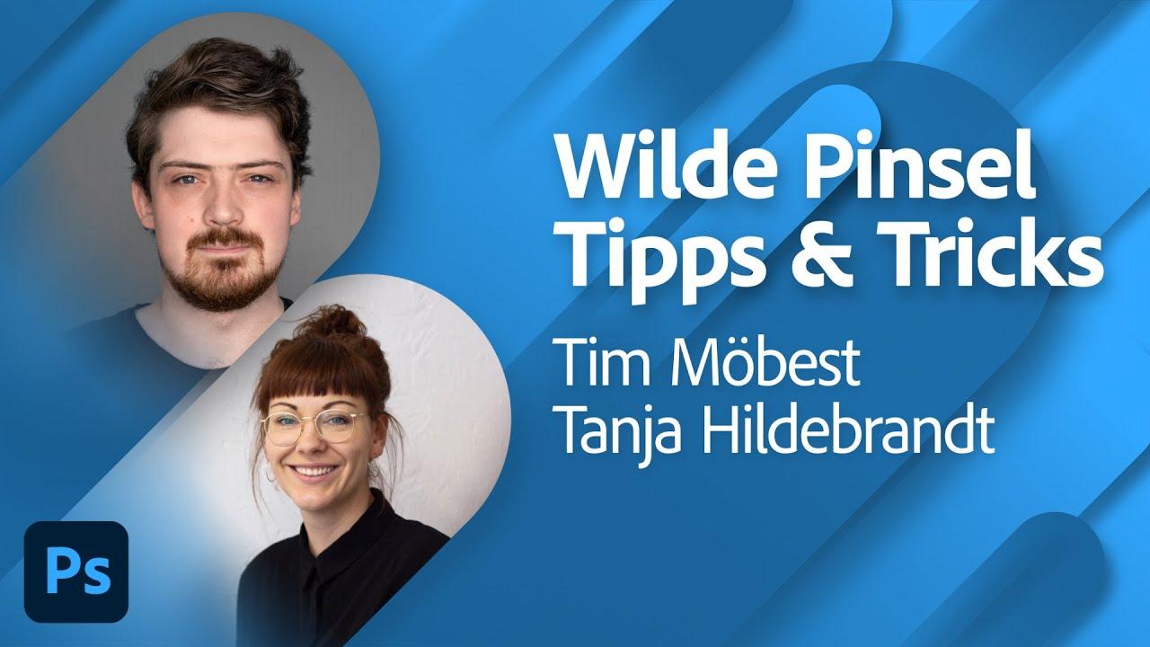 Noch mehr wilde Tipps & Tricks für Pinsel mit Tim Möbest |Adobe Live
