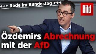 Cem Özdemir rechnet mit der AfD ab – die ganze Rede vor dem Bundestag