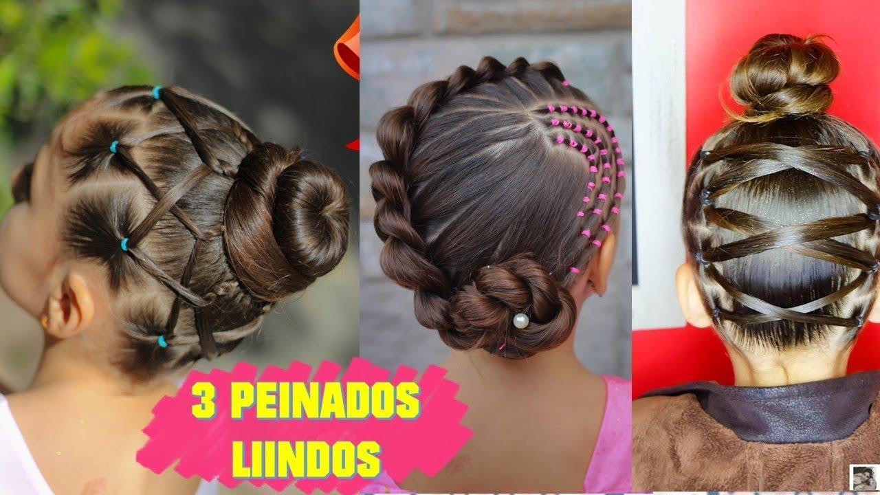 3 Peinados Fáciles Elegantes Y Rápidos Para Niñas Peinados Fáciles Y Rápidos Wilvita