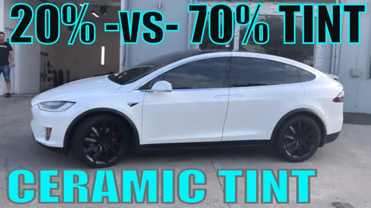 Tinting A 2019 Tesla Model X With Ceramic Tint Winning Window Tints
