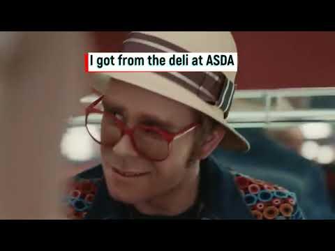 Elton John - John Lewis CHRISTMAS ADVERT 2019 - PARODY - ROBERT WHITE