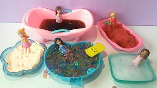 Polly Pocket Kum Orbez Slime Çay Köpük Havuzu Oyunu
