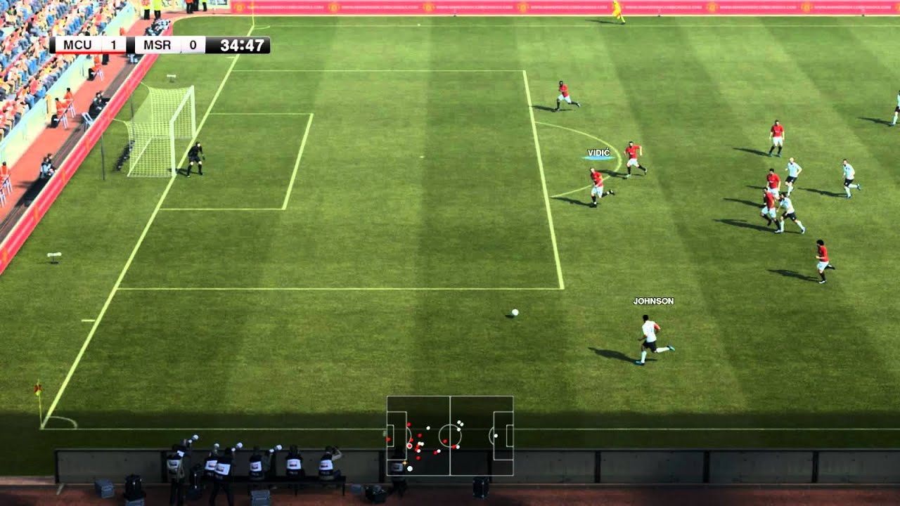 PES 2012 PC Gameplay Max Settings - YouTube