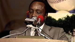 Joe Morgan 1990 Hall of Fame Induction Speech