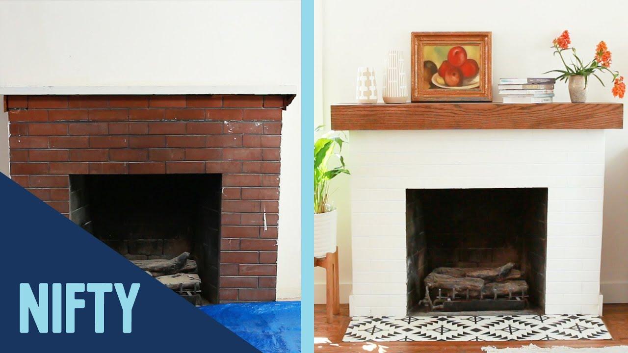 DIY Fireplace Upgrade
