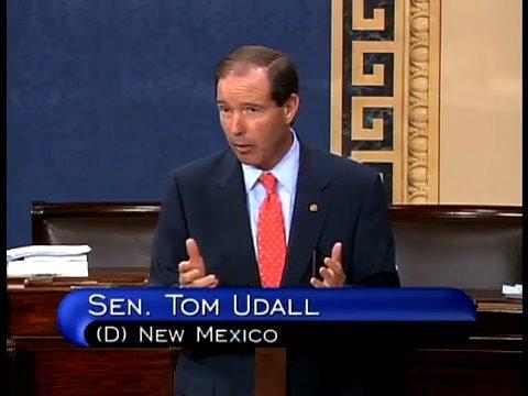 Tom Udall: Public Option Healthy for America (Full Speech)