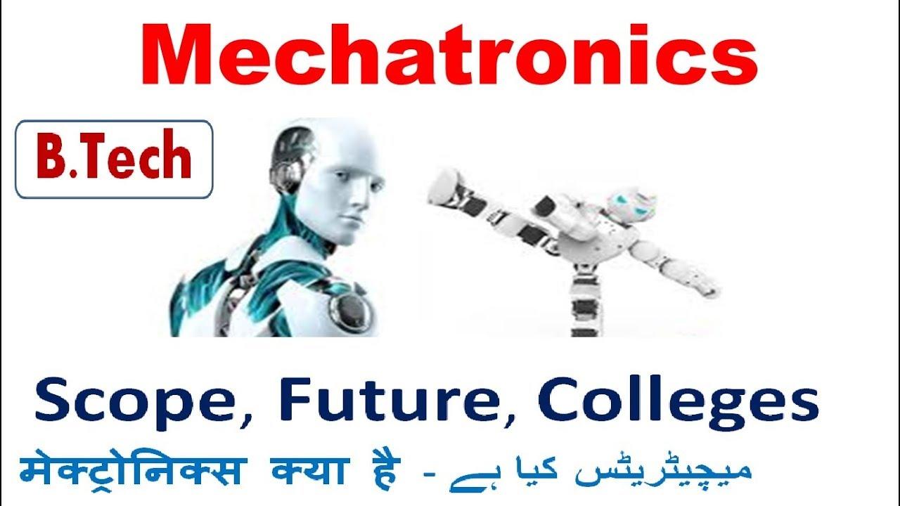 mechatronics engineering in India Colleges Scope Future Jobs