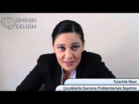 Çocuklarda Davranış Problemleriyle Başetme Video Eğitimi (0-6 Yaş İçin) Dersi: 4- Tutarlılık İlkesi