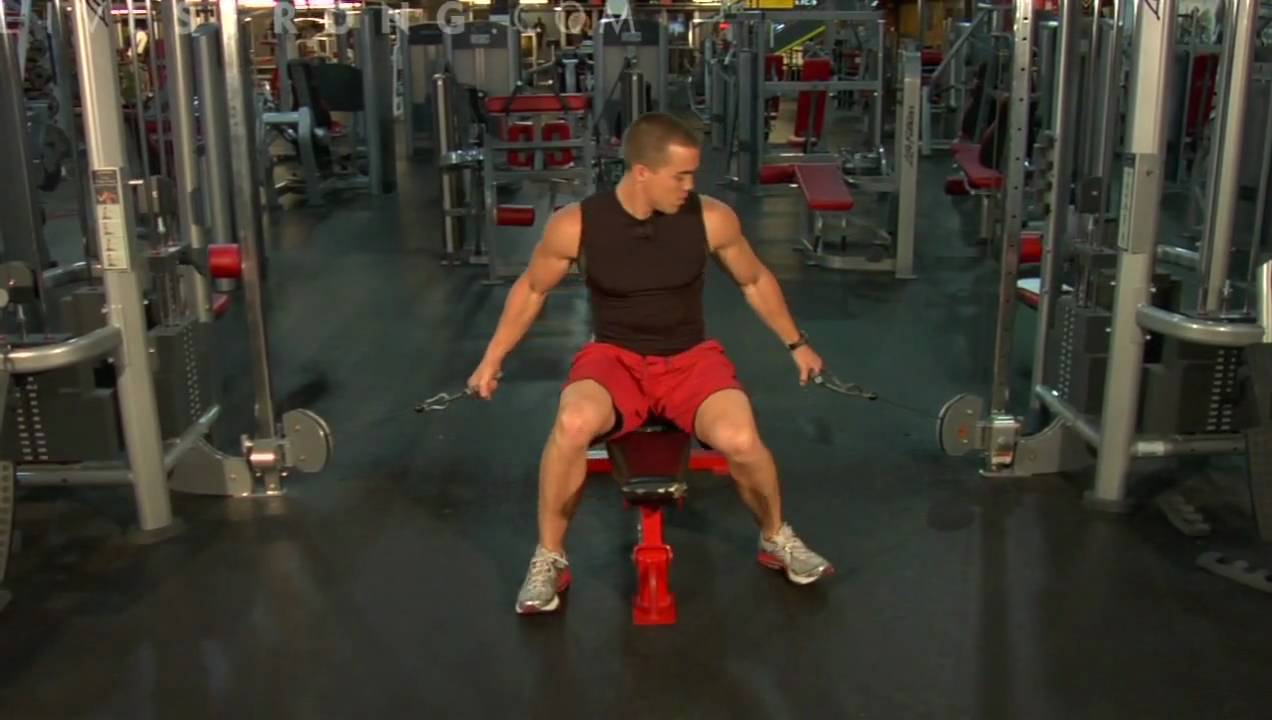 How To Do Flat Bench Cable Flys Youtube
