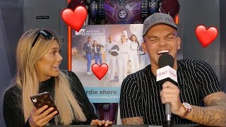 Geordie Shore's Chloe Ferry and Sam Gowland play Mr and Mrs