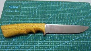 Ремонт ножа. (Вторая жизнь уставшему работяге).
