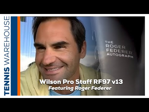 Roger Federer joins us for the Wilson Pro Staff RF 97 Autograph v13 Tennis Racquet Review 🐐🇨🇭
