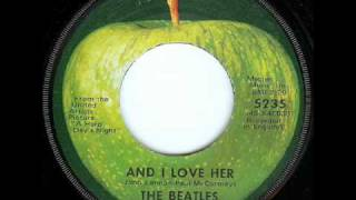 The Beatles - And I love her (Live at the BBC)