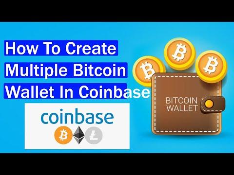 How To Create Multiple Bitcoin Wallet In Coinbase   Bitcoin Wallets