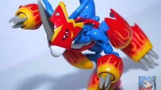 AFR - Armor Digivolving Flamedramon (Japanese Version) Figure Review アーマー超進化シリーズ フレイドラモン レビュー