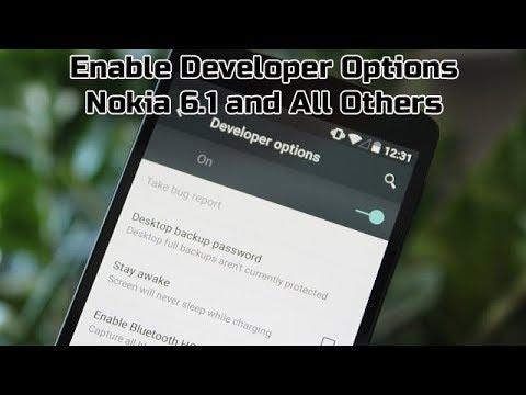 How To Enable Developer Options Nokia 6 1 USB Debugging, ADB