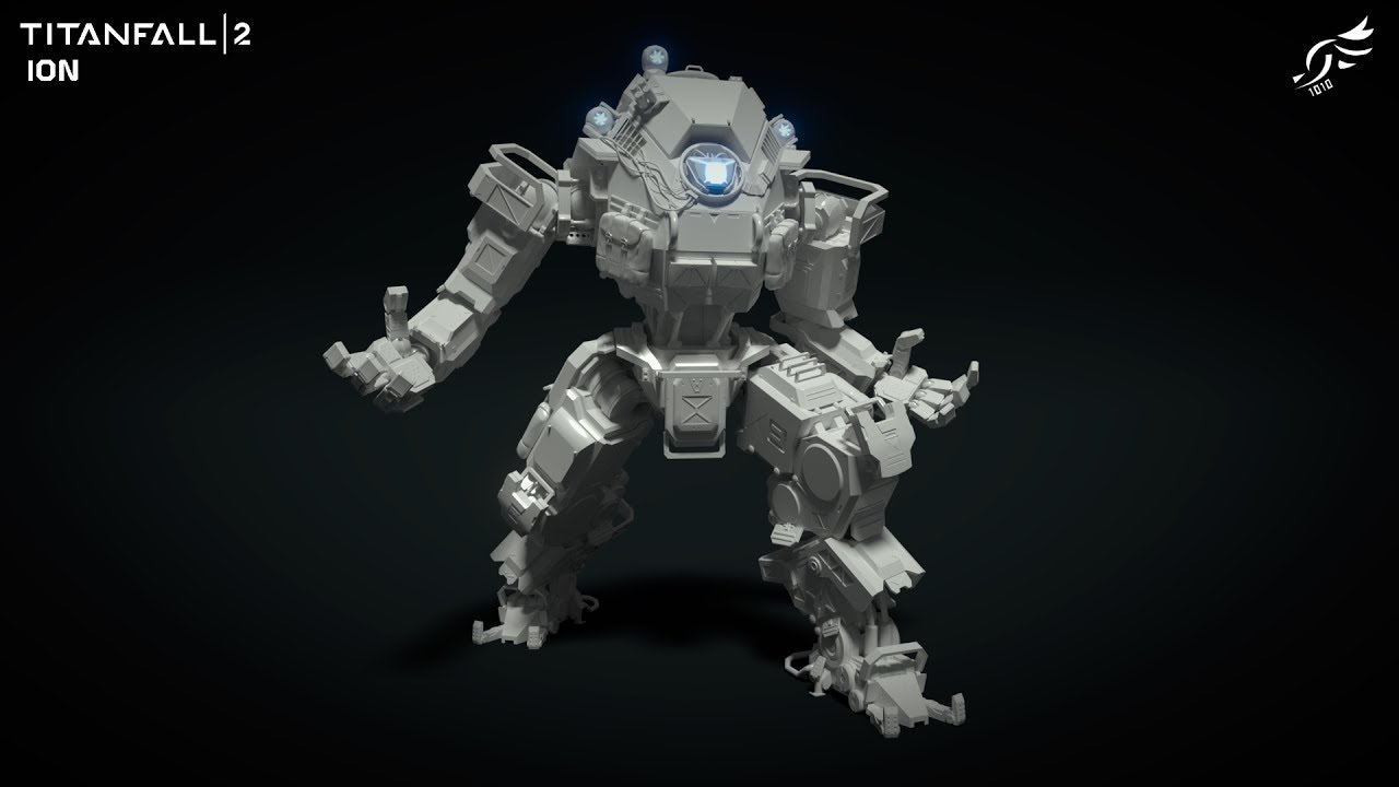 Ion - Titanfall 2 (3D Model)