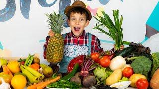 Обучающий Мультик Для Детей Названия Фруктов | Learning Fruits In Russian. Stefanchico learn english