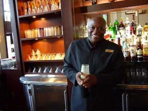 Bullion's bartender doing what he's best on....