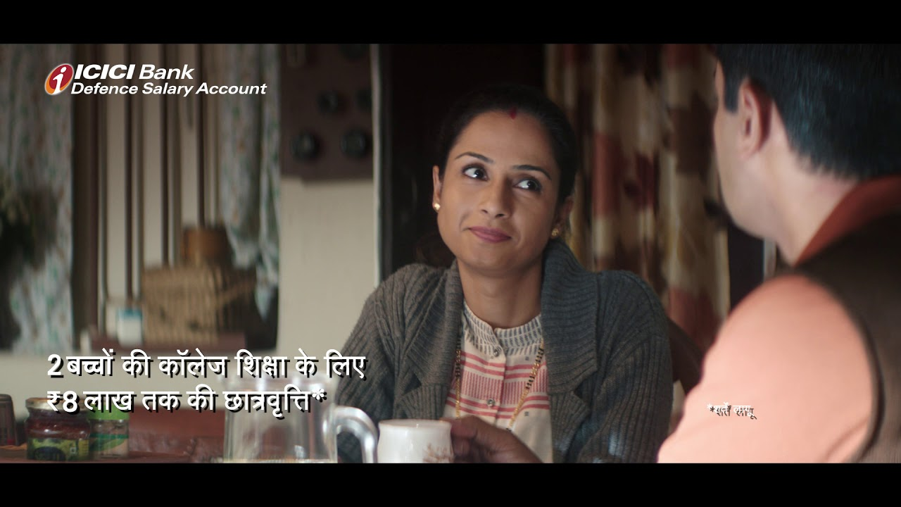 ICICI Bank Defence Salary Account - Super benefits for our super heroes